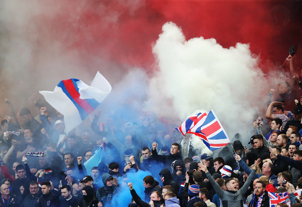 Rangers news: BBC pundits react to Gers fans fireworks during clash v Livi