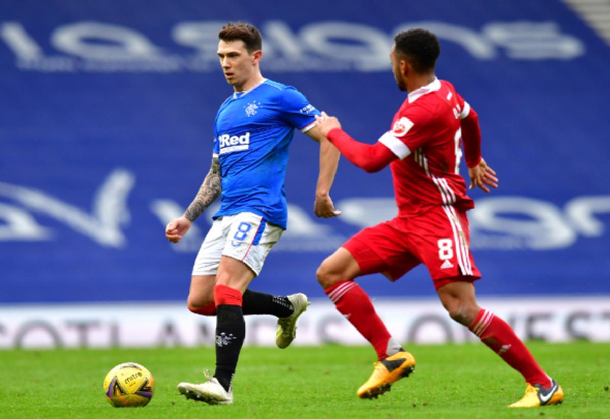 Rangers boss Gerrard sees himself in Ryan Jack insists Barjonas